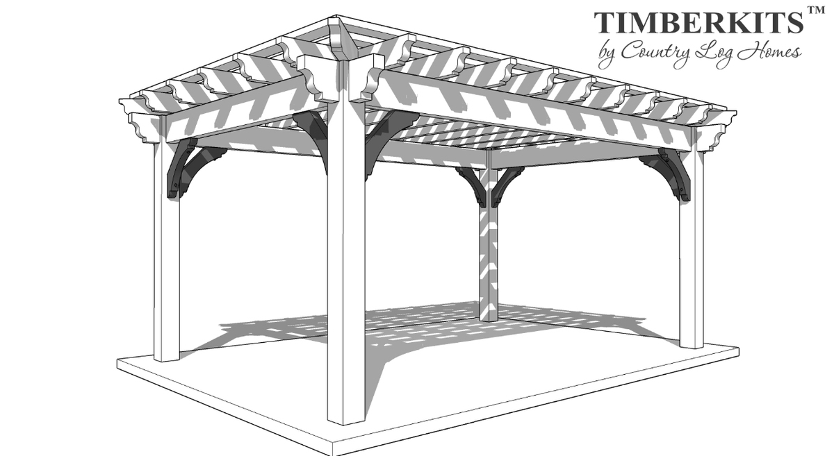 Products Heavy Timber Pergolas And Pavilions In The Gta And Southern Ontario